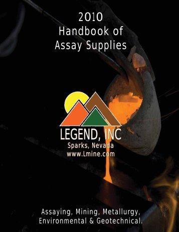 (775) 786-3003 Used Equipment - Legend, Inc.