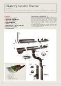 1 STŘECHA, TO JE Okapový systém Bramac - TRIMOT - Page 2