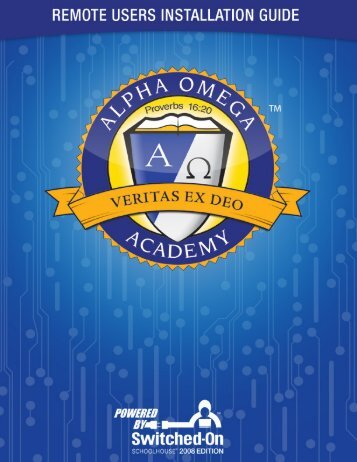 Switched-On Schoolhouse® 2008 - Alpha Omega Academy