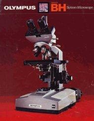 Olympus Series BH System Microscope brochure (BHA, BHB, BHC ...