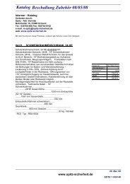 Katalog Beschallung Zubehör 08/05/08