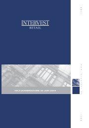 Halfjaarbrochure Intervest Retail 2004