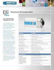 QImaging EXi Blue™ Digital Camera Brochure - Meyer Instruments ...
