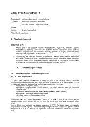 Zpráva o činnosti odboru životního prostředí za rok ... - Město Hranice