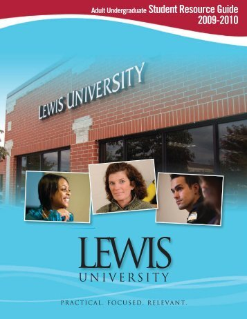 Adult Undergraduate Student Resource Guide ... - Lewis University