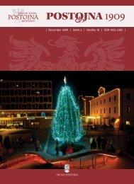 | December 2009 | letnik 3 | številka 10 | ISSN ... - Občina Postojna