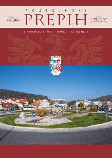 November 2012 - Občina Postojna