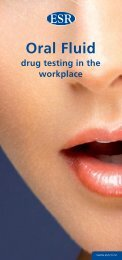 Oral fluid drug testing in the workplace (pdf, 1MB)