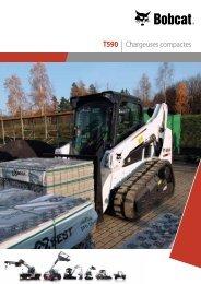 Chargeuse compacte sur chenilles T590 - Bobcat.eu