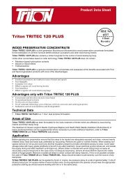 Triton TRITEC 120 PLUS - Triton Chemicals