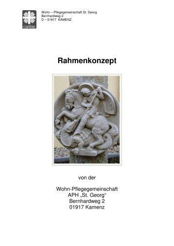 Rahmenkonzept - Caritasheim St. Georg