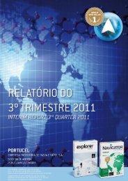 Relatório do 3º Trimestre de 2011 - Portucel