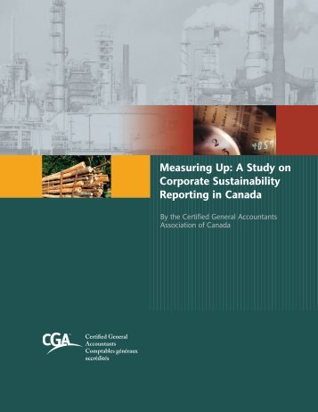 Measuring Up - Certified General Accountants Association of Canada