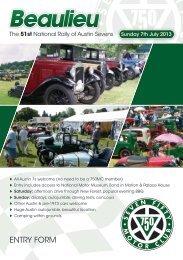 ENTRY FORM - 750 Motor Club