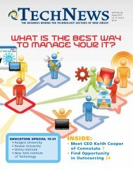 What Is The Best Way To Manage Your IT? - NJTC TechWire