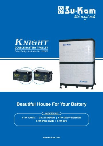 Knight Double Battery brochure here. - MyGadgetsMall.com