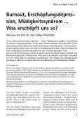 Was erschöpft uns so? - Gemeinnützige Treuhandstelle Hamburg e.V. - Seite 5