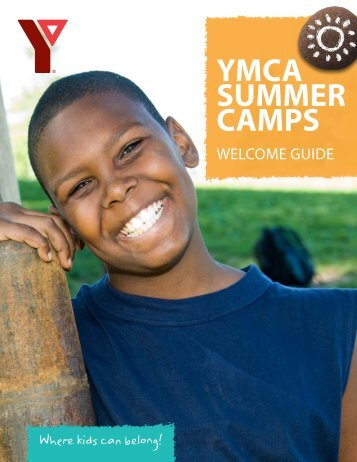 2013 Day Camp Welcome Guide - YMCA of Greater Toronto