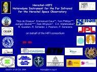 HIFI - Observatoire de Paris