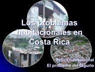 Los problemas habitacionales en Costa Rica