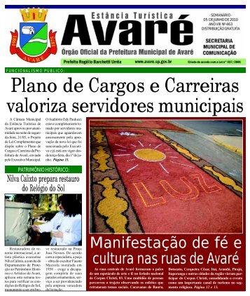 Plano de Cargos e Carreiras valoriza servidores municipais