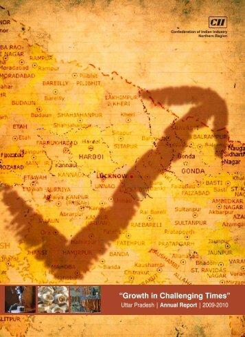 Uttar Pradesh Annual Report 2009-10 - CII