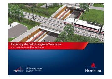 Aufhebung Bahnübergänge Hammer Straße - Landesbetrieb ...