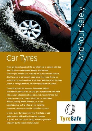 Tyre-Safe - Thomson Caravans