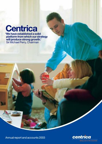 Download 2003 Annual Report PDF - Centrica