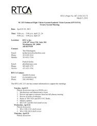 April 23-25, 2013 Time: 9:00 am – 5:00 pm April 2 - RTCA