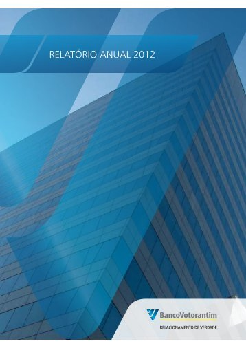 RelatóRio anual 2012 - Banco Votorantim