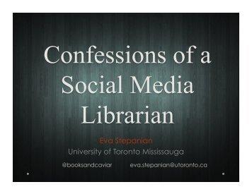 Eva Stepanian University of Toronto Mississauga - Accessola2