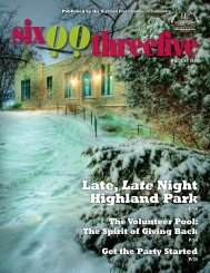 Late, Late Night Highland Park - Highland Park Chamber of ...