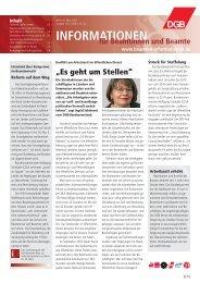 zum PDF der Ausgabe 03/2006 - Landesbeamte