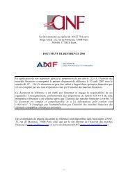 Document de référence - ANF Immobilier