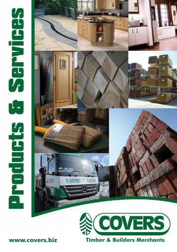 Products and Services - Covers