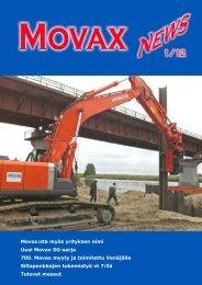 Movax:sta myös yrityksen nimi Uusi Movax SG-sarja 700. Movax ...