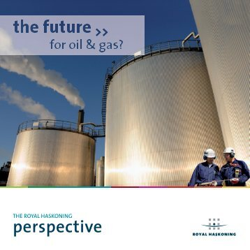 The future - For Oil and Gas - Royal Haskoning in the UK