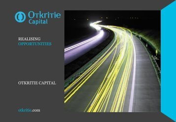 Слайд 1 - Otkritie Securities Limited
