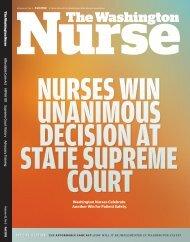Issue 42.3 - Fall 2012 - The Washington State Nurses Association