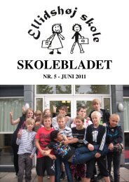 skoleblad juni 2011.pub - Ellidshøj Skole