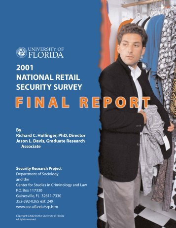2001 national retail security survey florida - Diogenes, LLC