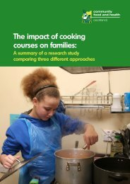 The impact of cooking courses on families: - Community Food and ...