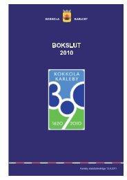 Bokslut 2010.pdf - Kokkola