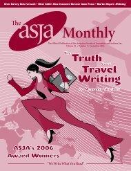 September 2006 - The ASJA Monthly