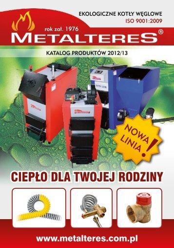 Pobierz katalog produktów - Metalteres