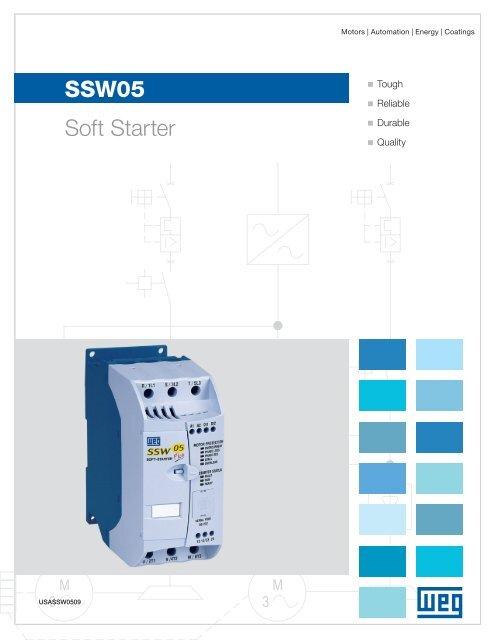WEG SOFT START SSW050045T2246EPZ FOR 30-HP MOTOR* 460 Volt 3 Phase#