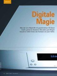 Was der Linn Majik DS mit gewöhnlichen CD-Daten ... - Linn Audio