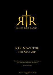 RTR News 9 May