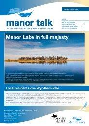 manor talk - Dennis Family Corporation
